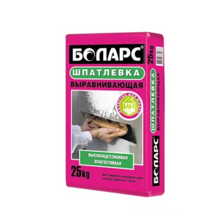 Шпатлевка выравнивающая Боларс (белая), 25кг