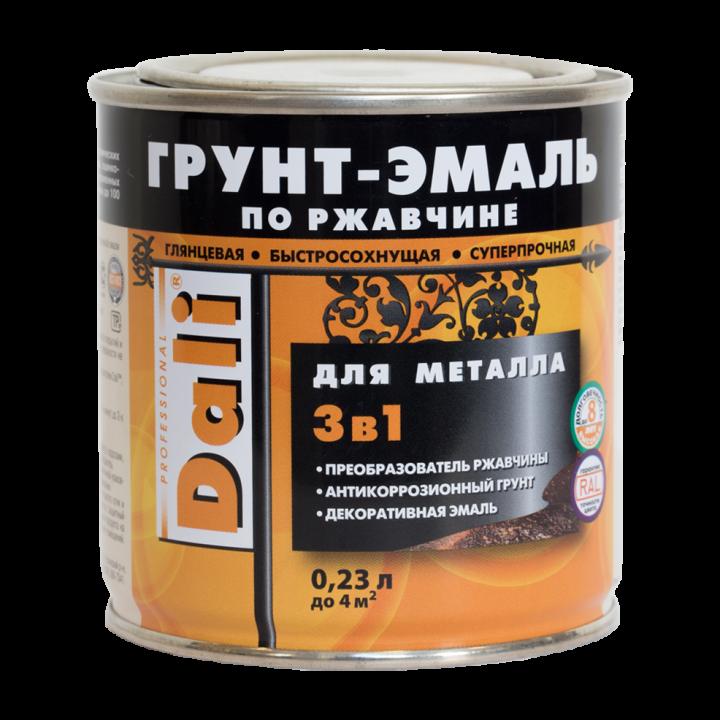 """Грунт эмаль по ржавчине 3в1 """"Dali"""" 10кг"""
