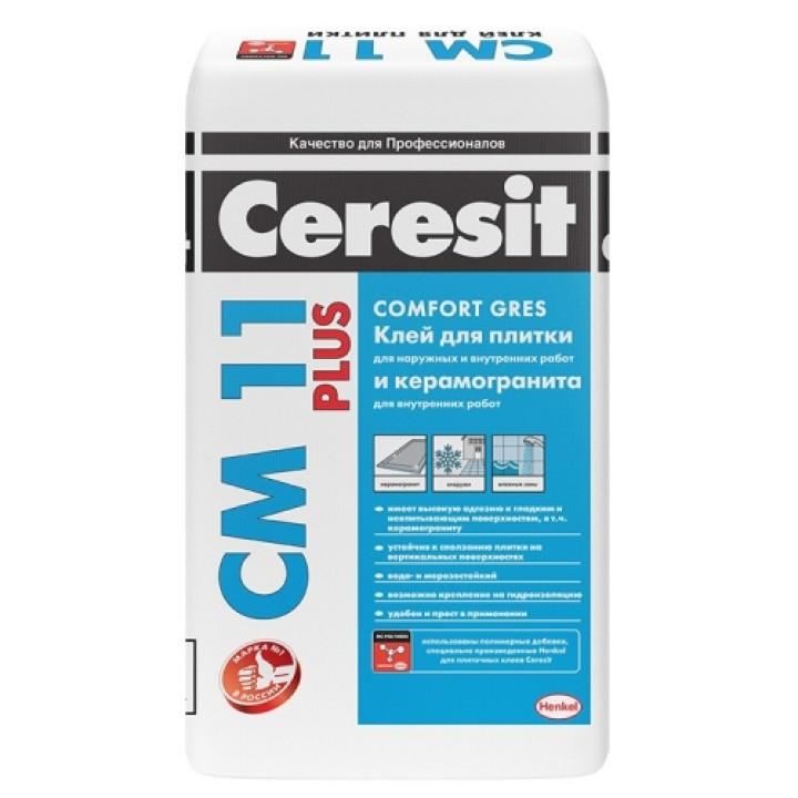 Клей для плитки и керамогранита Ceresit CM 11 Plus 5кг