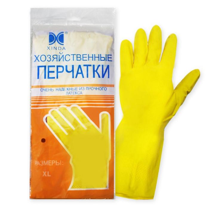 Перчатки хозяйственные L
