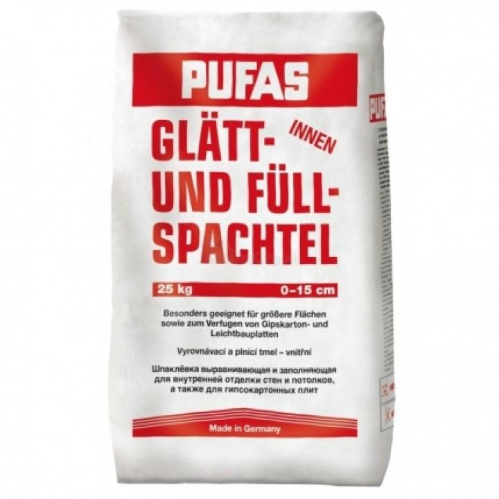 Шпаклевка гипсовая Pufas Full-Finish Spachtel №1 20 кг