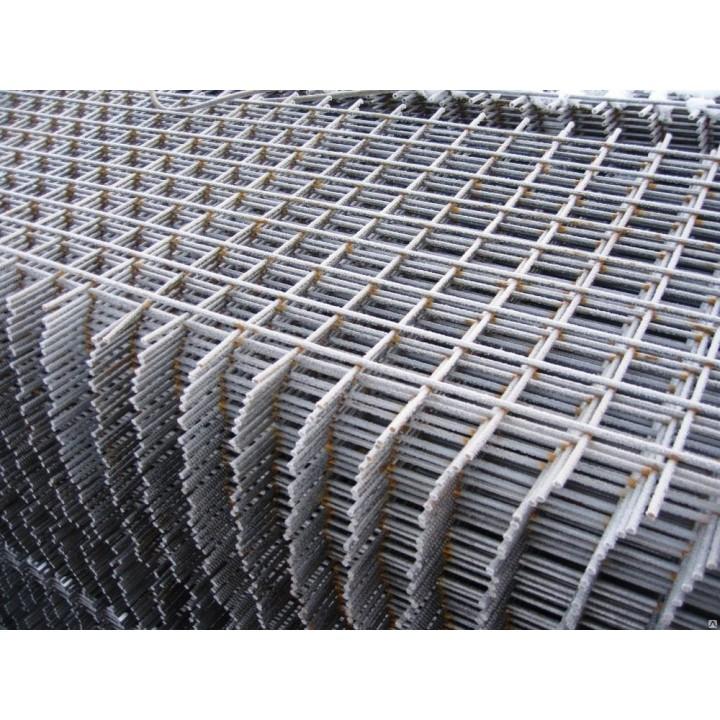 Сетка металлическая 50 х 50 х 4мм, 500 х 2000мм