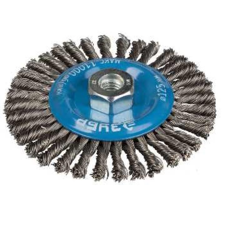 Щетка дисковая жесткая ЗУБР 115мм М14 для УШМ