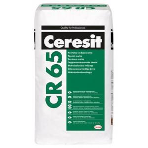 Смесь гидроизоляционная цементная Ceresit CR 65 25кг