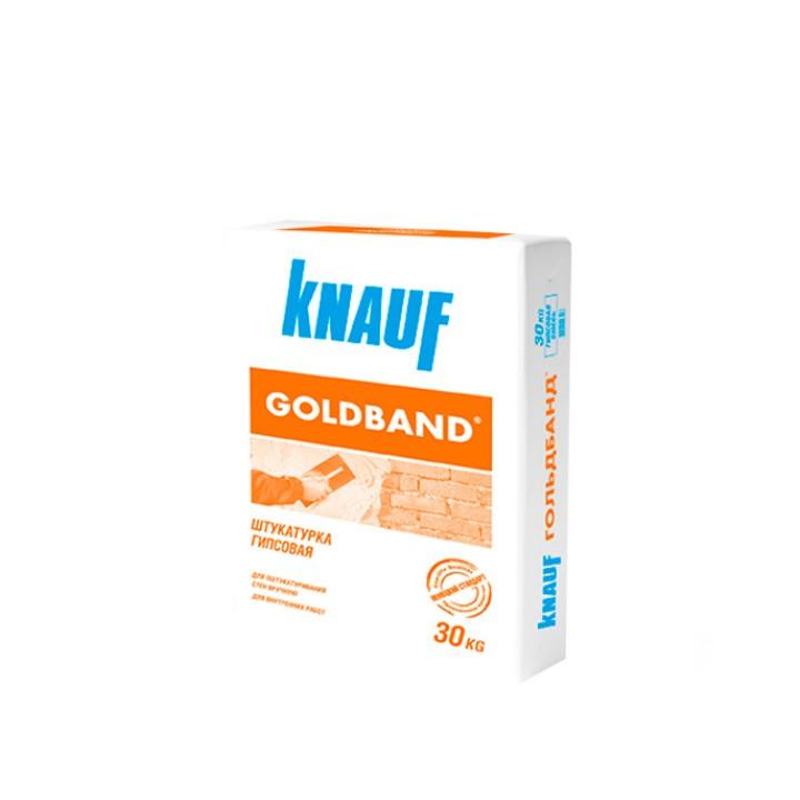 Штукатурка Goldband 30кг Knauf
