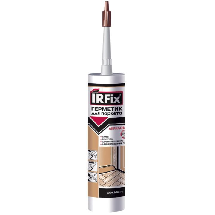 Герметик для паркета цвет бук IRFix 310ml
