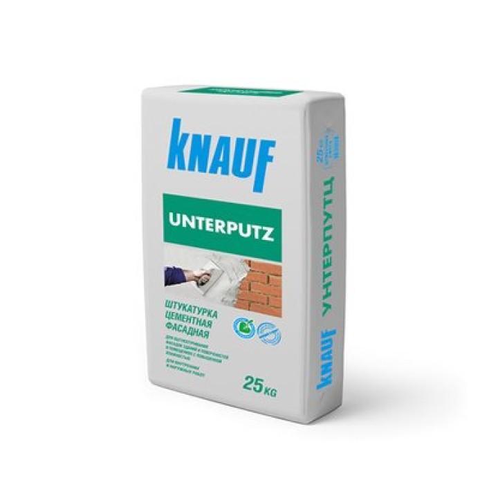 Штукатурка цементная, фасадная 25кг KNAUF Unterputz