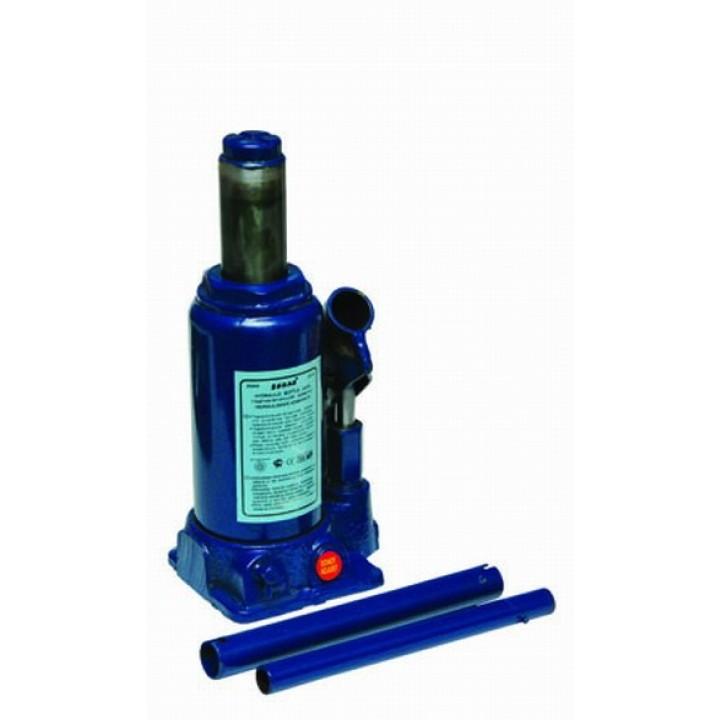 Домкрат гидравлический бутылочный 10т h подъема 230-460мм MATRIX