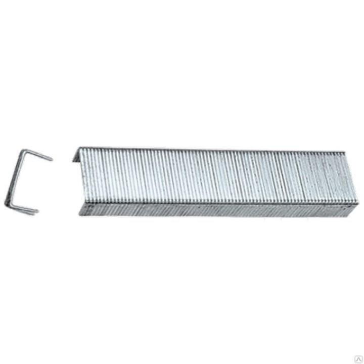 Скобы для степлера 8мм, тип 53 1000шт ВИХРЬ