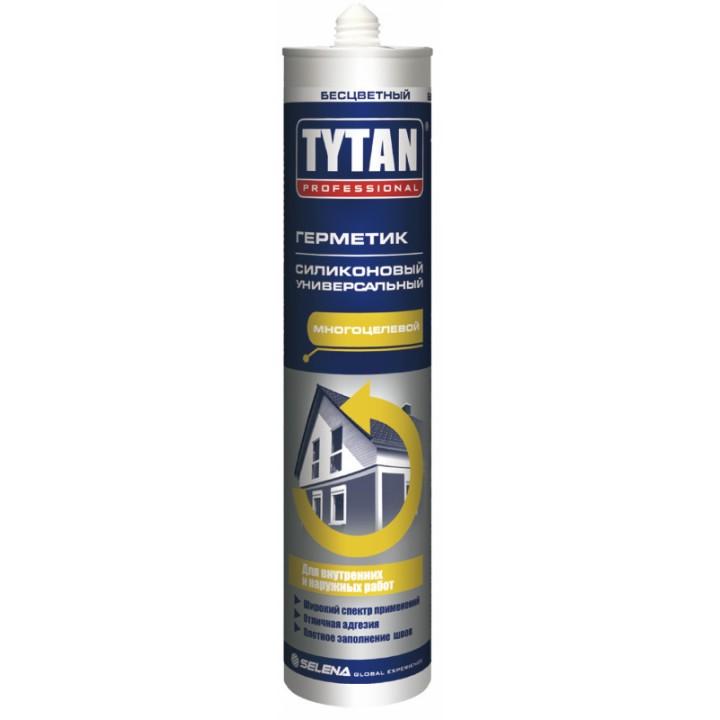 TYTAN Герметик силиконовый универсальный (бесцветный) 310ml