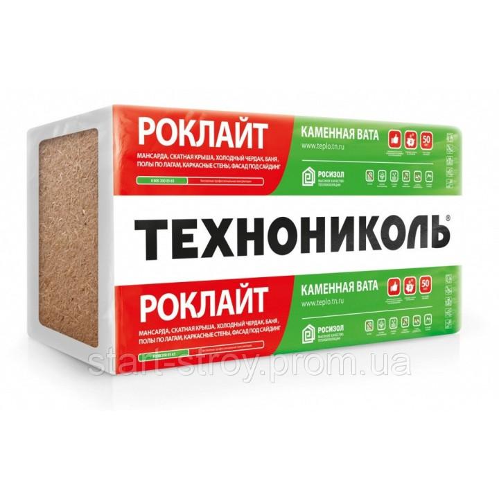 Утеплитель ROCKWOOL Скандик Лайт Баттс 50мм 5,76м2