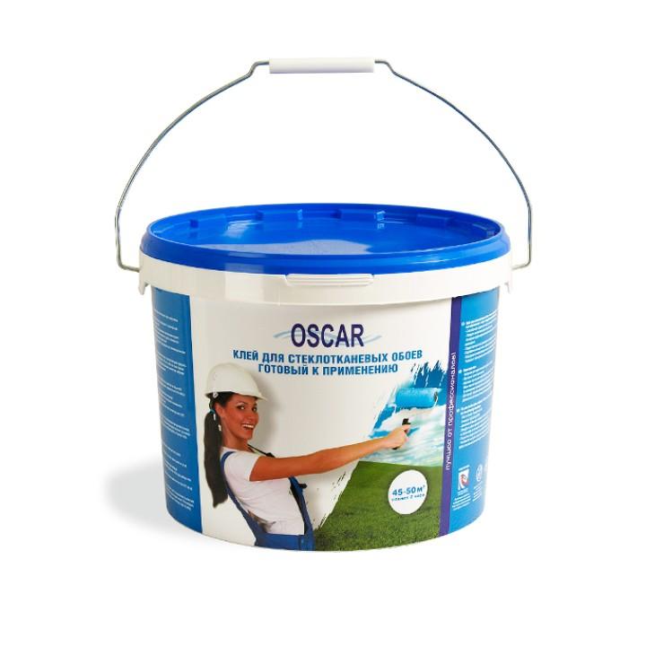 Клей Oscar для стеклообоев 10кг (готовый)