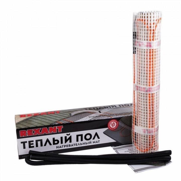 Теплый пол нагревательный мат REXANT Classic RNX 1,5-225 (1,5м2 0,5 х 3м)