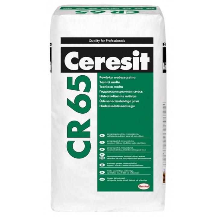 Смесь гидроизоляционная цементная Ceresit CR 65 5кг