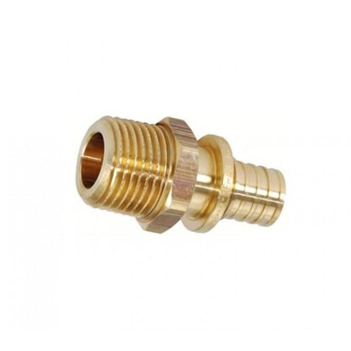 REHAU RAUTITAN Переходник с наружной резьбой 25-R 3/4-L 18 для труб из сшитого полиэтилен аксиальный